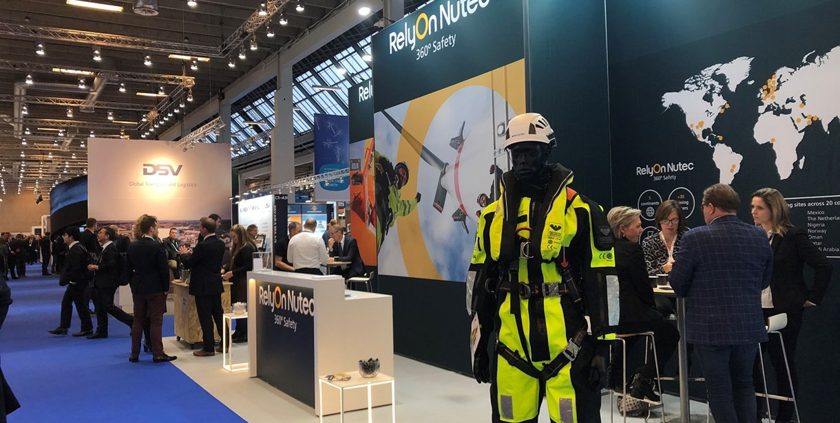 RelyOn Nutec stand at WindEurope Offshore 2019